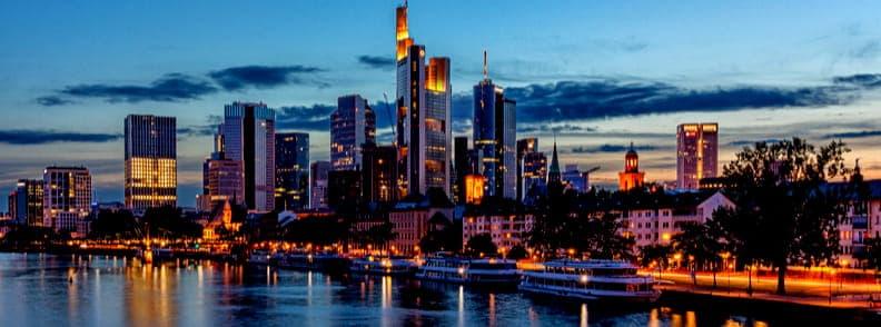 frankfurt travel costs germany