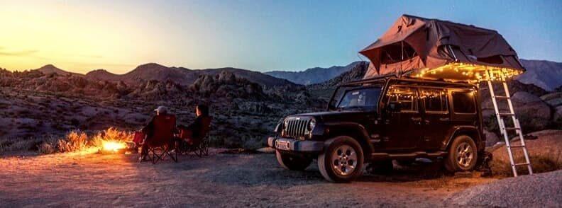 fun couples getaways camping together
