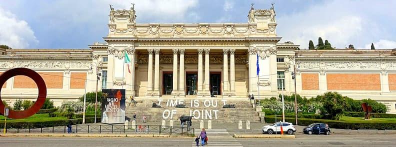 galleria nazionale arta moderna modern art gallery in rome