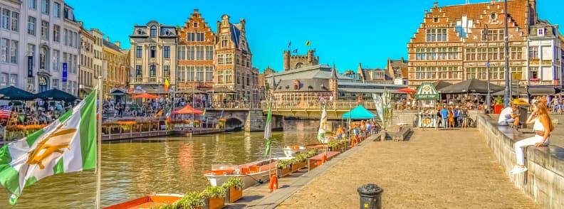 ghent travel costs belgium