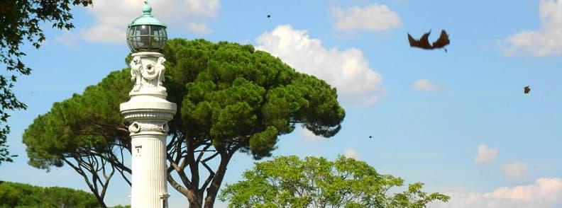 gianicolo park in rome
