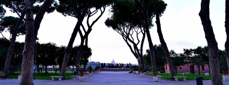 giardino degli aranci orange garden rome holiday itinerary