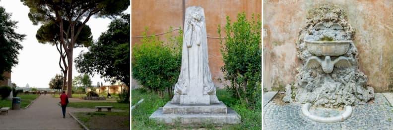 giardino storico di sant alessio rome holiday itinerary