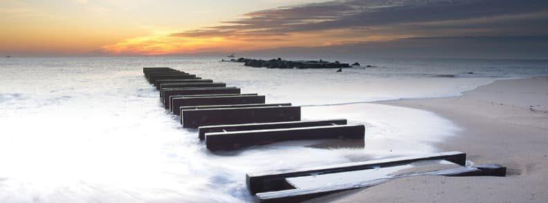 jersey shore romantic weekend getaway in the US