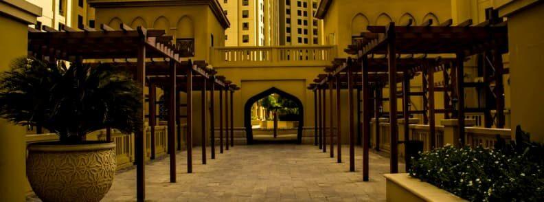 jumeirah beach residence walk dubai on a budget