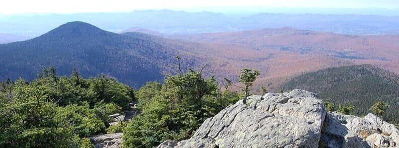 killington peak vermont autumn