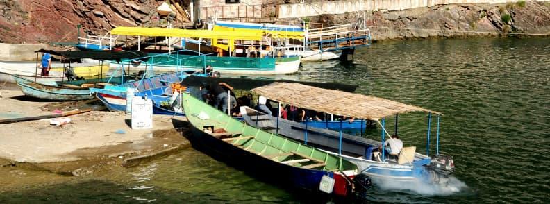 komani lake ferry ride koman