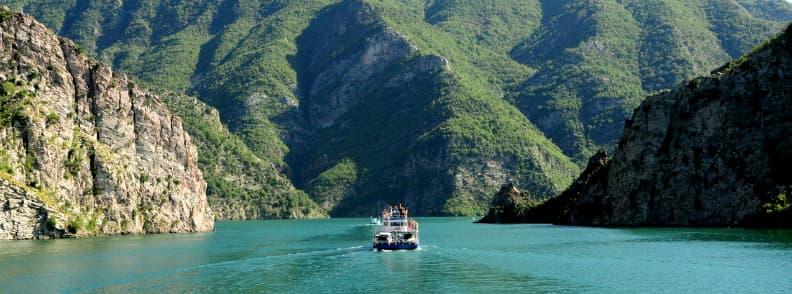 komani lake ferry ride