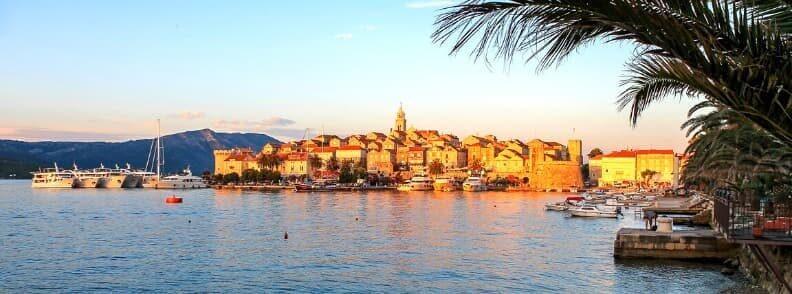 korcula sailing in croatia
