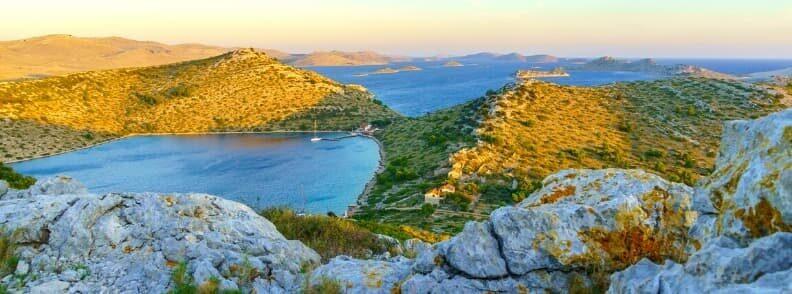 kornati islands sailing in croatia