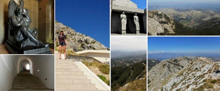kotor bay njegos mausoleum on mount lovcen