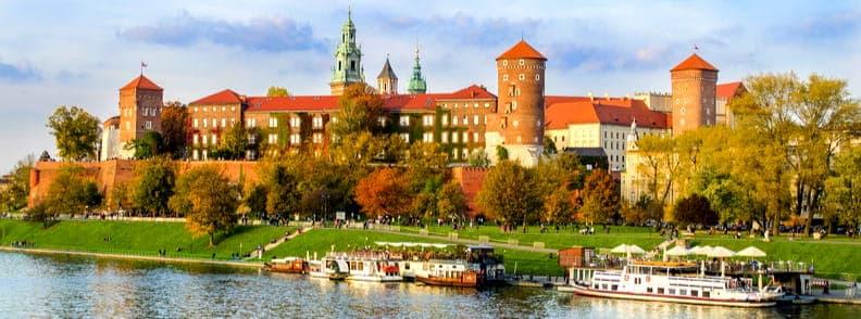 krakow travel costs poland
