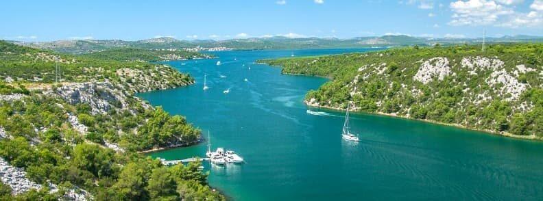krk island sailing in croatia