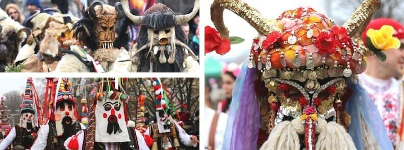 kukeri festivals in bulgaria surva