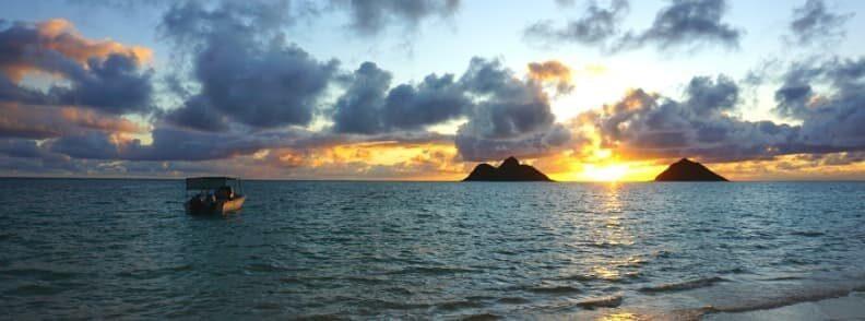 lanikai beach in oahu