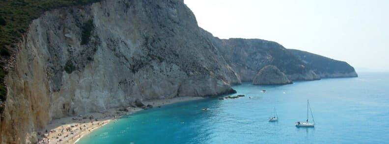 lefkada island sailing the ionian sea