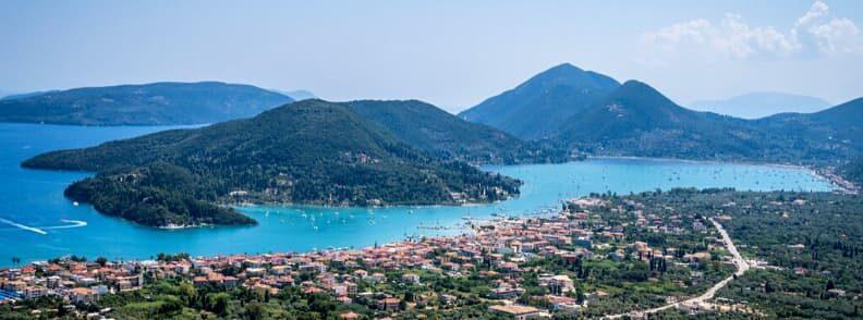 sailing the ionian in Nidri, Tranquil Bay & Vlicho Bay on Lefkada