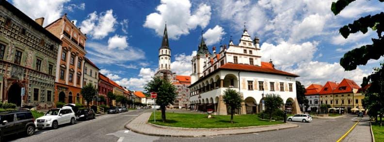 levoca travel costs slovakia