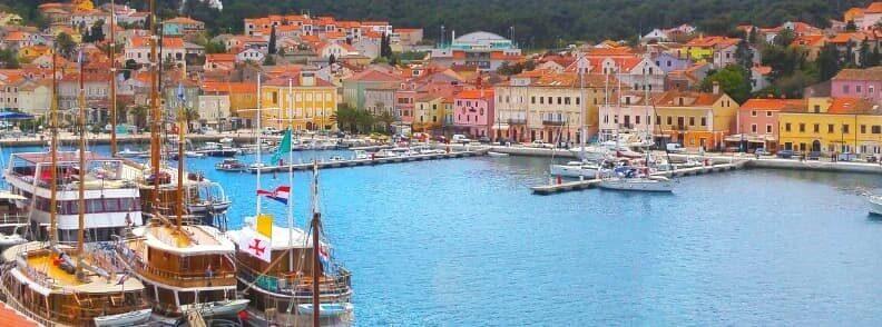 losinj sailing in croatia