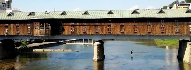 lovech bulgaria covered bridge