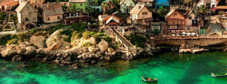 malta travel popeye village