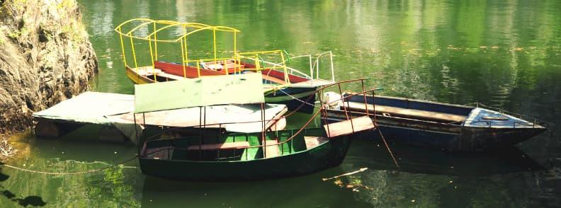 matka canyon boat ride