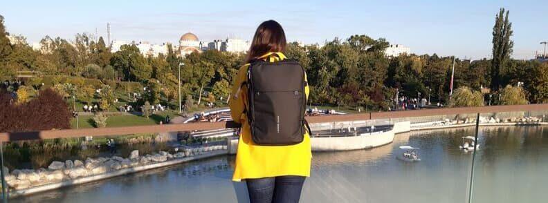 mirela the travel bunny review nayo smart backpack
