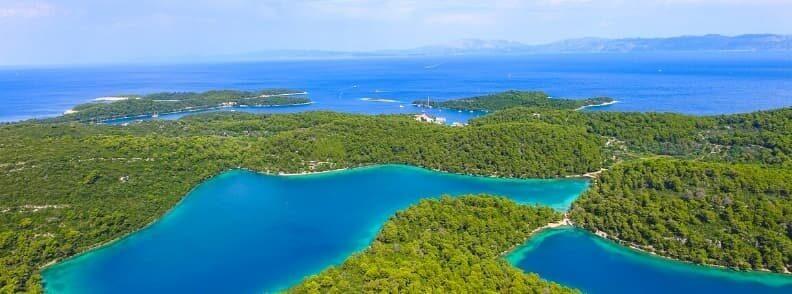 mljet island sailing in croatia