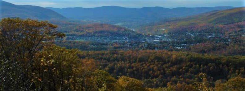 north adams fall foliage in massachusetts
