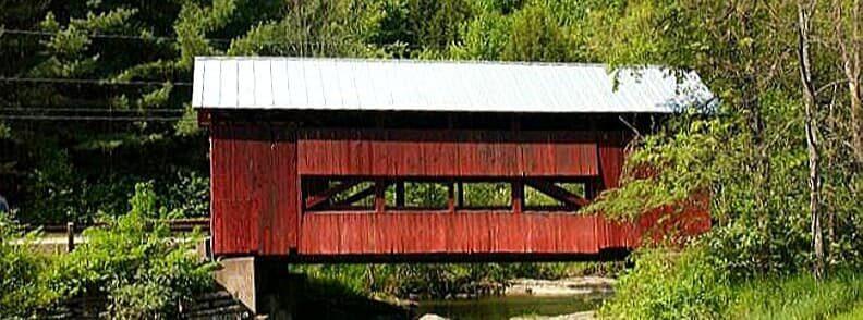 northfield falls covered bridge vermont