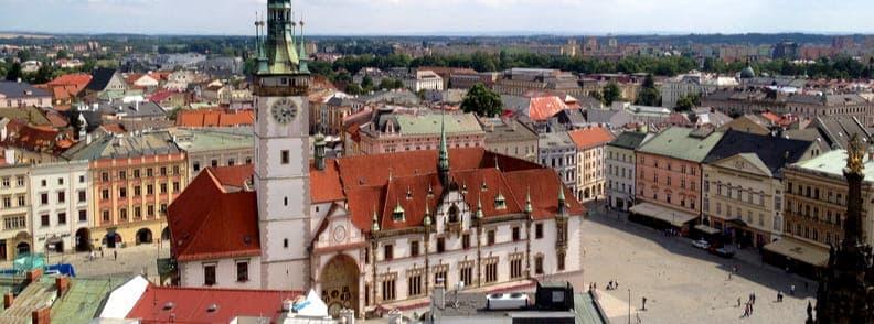 olomouc travel costs czech republic