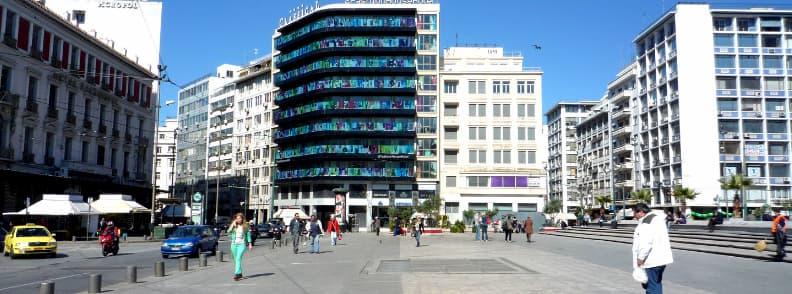 omonia square athens