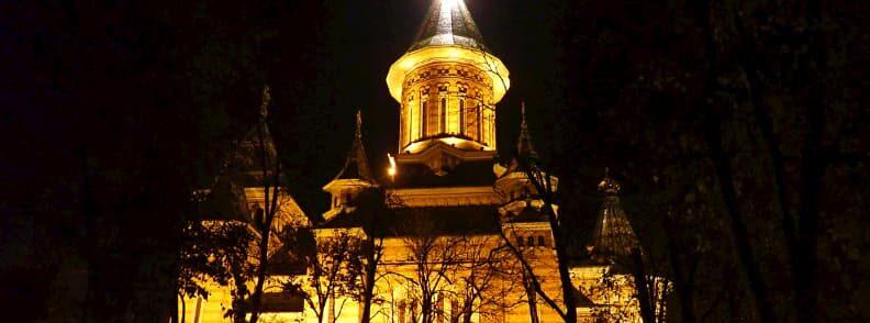orthodox metropolitan cathedral timisoara in a weekend