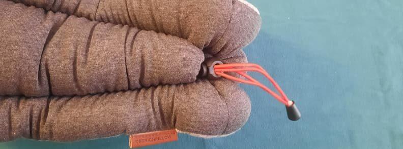 ostrich pillow adjustable elastic cord