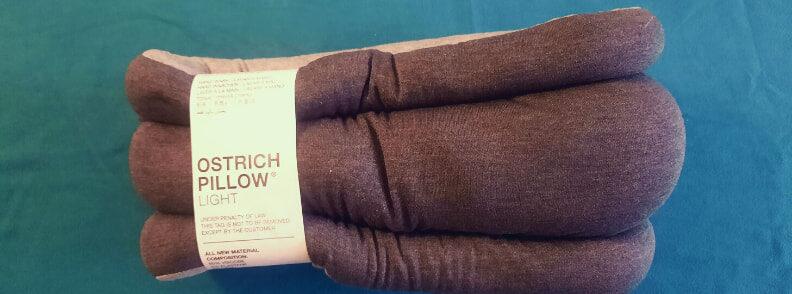 ostrich pillow light review