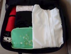 packing nayo exp backpack
