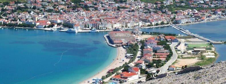 pag island sailing in croatia