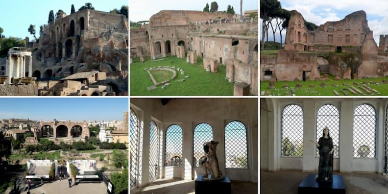 palatine hill rome holiday itinerary