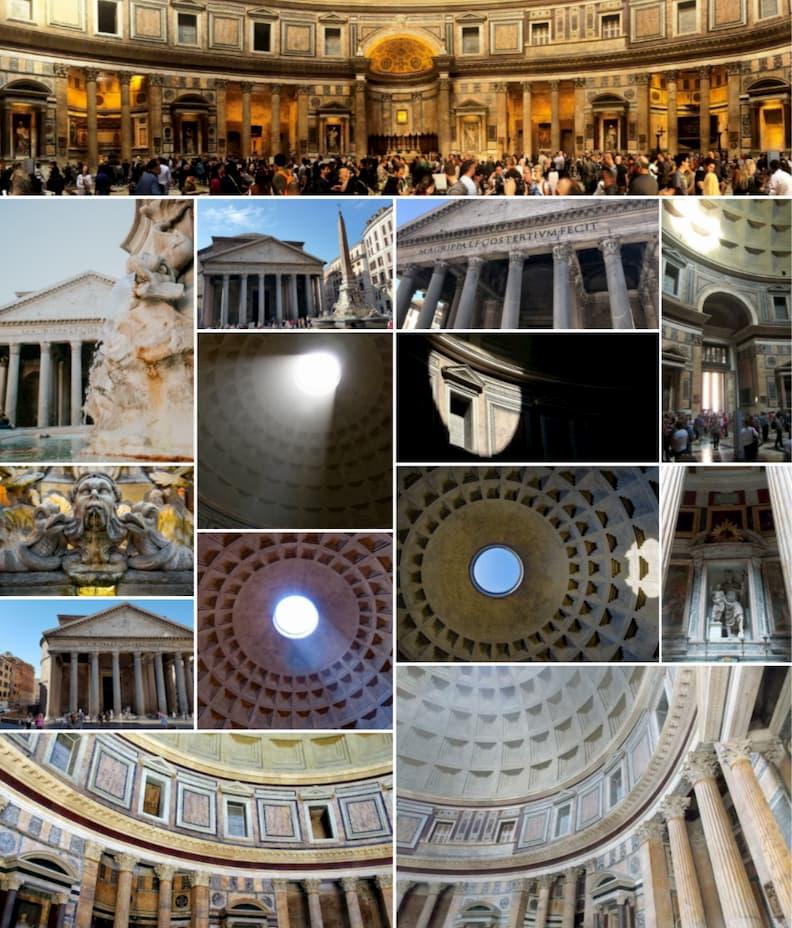 pantheon rome historical center