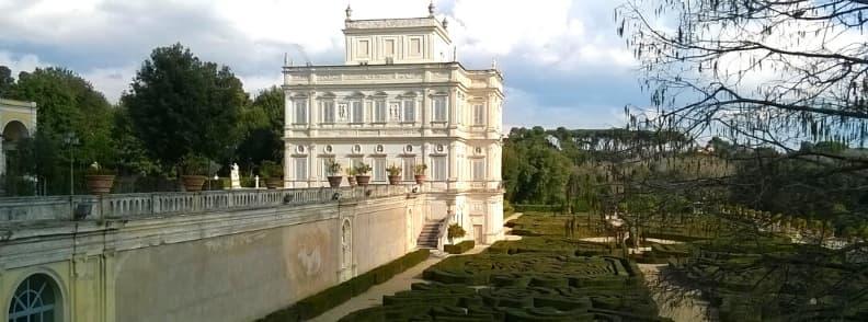 parks in rome gardens