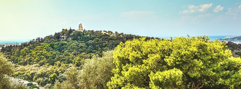 philopappos hill athens secrets