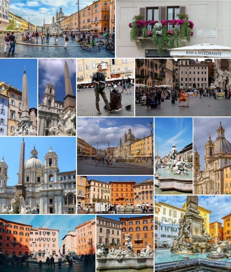 piazza navona rome historical centre
