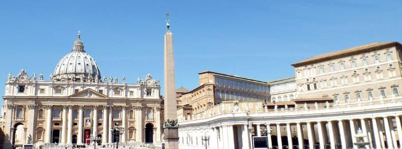 piazza san pietro citta del vaticano vatican city