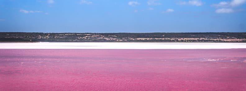 pink lake hillier australia hidden gems