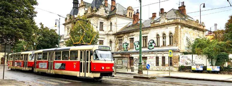 prague czech republic public transport
