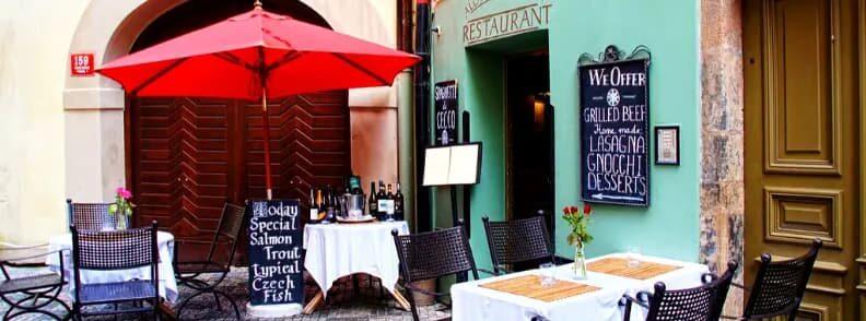 prague czech republic restaurants