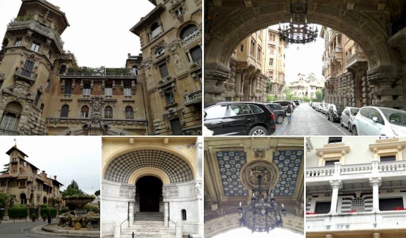 quartiere coppedè rome surprising places