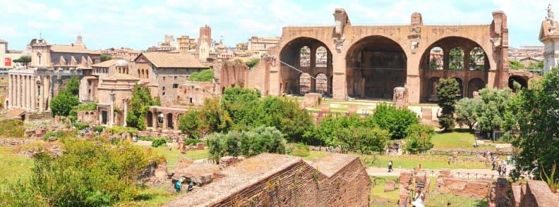 roman forum rome archaeological sites