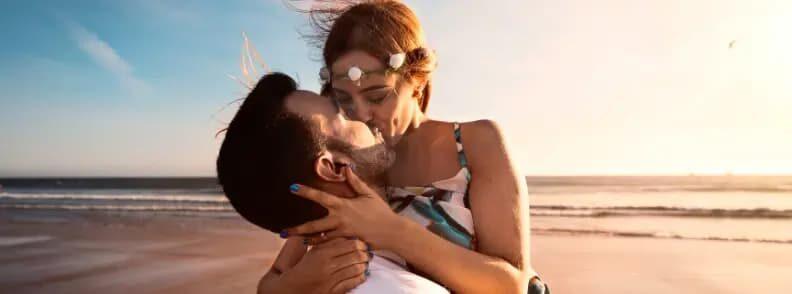 romantic lanikai beach in oahu for couples