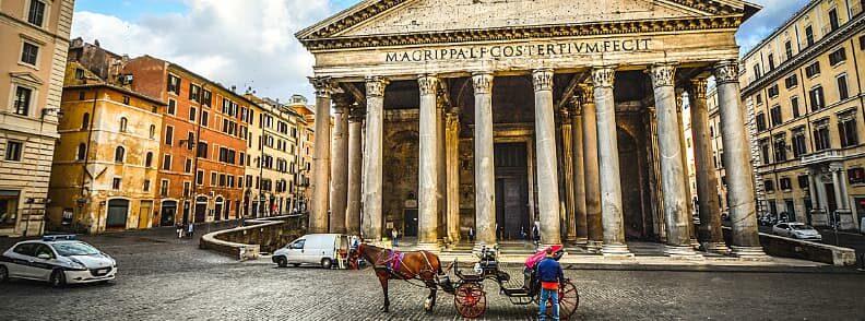 rome historical center